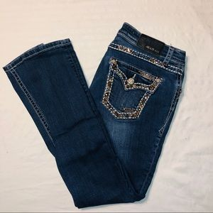 EUC women's grace embellished skinny jeans size 29